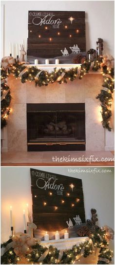25 Reclaimed Wood Christmas Decorations to Add Rustic Charm To Your Home