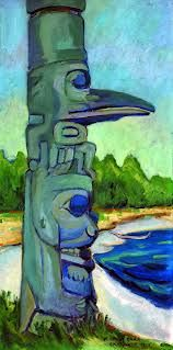 Emily Carr - Canadian Art and Artists. Canadian Painters, Canadian Artists, Native Art, Native American Art, Emily Carr Paintings, Group Of Seven Paintings, Vancouver Art Gallery, Fine Art Auctions, Impressionist Paintings