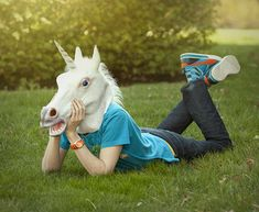 The only thing I want for Christmas is this Unicorn head.