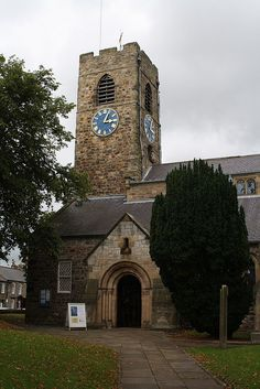 A beautiful Northumberland church where people have come to worship for 1300 years. Building Stone, Let Us Pray, Vicars, True North, St Andrews, Place Of Worship, British Isles, Newcastle, Homeland