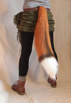 Animal, monster, and creature costumes and accessories Lolita Cosplay, Cosplay Kawaii, Cosplay Diy, Cosplay Outfits, Wolf Ears And Tail, Wolf Tail, Fox Ears, Fox Costume Womens, Husky Costume