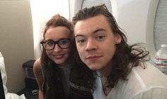 Lucky Harry Styles fan sat next to 1D star on 10-HOUR flight