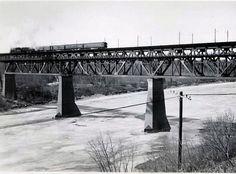 High Level Bridge, Edmonton, Alberta, Canada, 1942