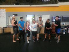 #CrossFit Irvine Sunday Crew :) Getting their flex on!