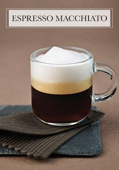One sip of this Espresso Macchiato from Nespresso and your taste buds are sure to delight in the smooth texture and naturally sweet flavor. Start your day with this coffee treat!