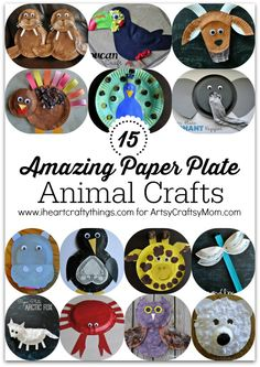 15 Amazing Paper Plate Animal Crafts 15 Amazing Paper Plate Animal Crafts1 photo