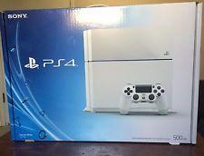 Exclusive Glacier White Sony PlayStation 4 PS4 Destiny Bundle 500 GB