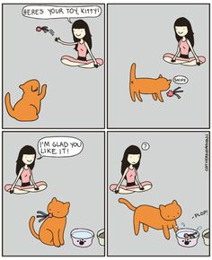One of my cats does this. Then drops it on me (soaking wet) while I am sleeping.