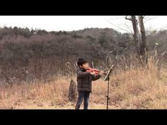 Scale - Des-dur (D-flat Major) in 1st position [変二長調の音階]; 小野アンナ音階教本より —See more of this young violinist #from_HaruyasViolin