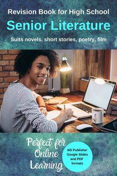 Revision Booklet for Senior English Literature - Templates to Complete Elements Of Literature, English Literature, Literacy Strategies, Film Studies, Study Skills, Home Schooling, High School Seniors, Learning Resources, Teaching English