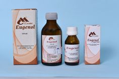 #Eugenol ✓ Appx 98.9% pure.  ✓ Properties & Advantages ✆ Shiva Products  ➫ For temporary relief of localized dental pain when combine with zinc oxide to form a sedative dressing.  ➫ Chemically pure with increased effectiveness.  ➫ Forms a uniform paste consistency when mixed with zinc oxide.