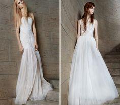 Vera Wang tőle szokatlan módon nagyon egyszerű és letisztult ruhákat készített. Vera Wang, Formal Dresses, Wedding Dresses, Fashion, Dresses For Formal, Bride Dresses, Moda, Bridal Gowns, Formal Gowns