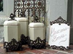 Gg Collection Canisters At Classic Hostess Functional And Beautiful