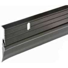 Frost King B59/36H Premium Aluminum And Vinyl Door Sweep 1-5/8-Inch by 36-Inches, Bronze by Frost King. $8.72. From the Manufacturer                Frost King Premium Aluminum and Vinyl Door Sweep is a heavy gauge aluminum strip that is bronze in  color, has a premium finish and comes with a quality vinyl sweep.                                    Product Description                Premium aluminum & vinyl door bottom. Heavy gauge aluminum with a quality vinyl sweep. 1-5/8 x 36...