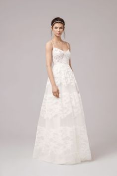 SOLEIL - Anna Kara 2017 lace a line sweetheart wedding gown