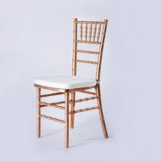 gold Chivari chairs. a must have.