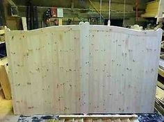 Details About Wooden Timber Driveway Gates Timber Gates Doors Various Sizes See…