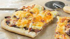 Pizza 3 quesos - Recetízate