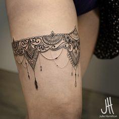 Tattoo perna