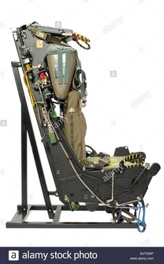 Stock Photo - Martin Baker Ejection seat out of and Phantom Jet Fighter Aircraft. From above with Fisheye lens on white background Military Jets, Military Aircraft, Fighter Aircraft, Fighter Jets, Rocket Motor, Ejection Seat, F4 Phantom, Jet Plane, Model Airplanes
