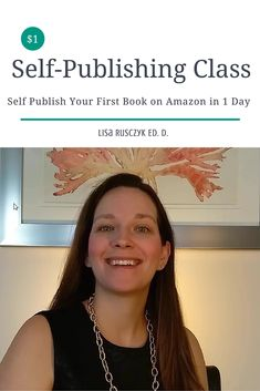 I would like to invite you to one of my other classes on SkillShare: How to Self Publish Your First Book in One Day. Enjoy! I hope you are having a great day. Lisa