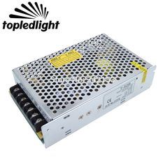 T-50B Aluminum 3 Modes Triple Switching Power Supply  Converter Power Adapter DC5V/+12V/-12V Portable Lighting Accessories