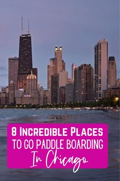 As a city that's surrounded by waterways, Chicago is a fantastic city to explore from the water. Hitting the Chicago River or Lake Michigan is one urban adventure that's worth doing, whether you're a local or a visitor. Stand up paddle boarding in Chicago is a wonderful way to experience the city from a new perspective, and get some fresh air in the process! In this guide, we've compiled a list of 8 wonderful Chicago stand up paddle boarding spots to help you plan your a East Coast Usa, West Coast, Paddle Board Rentals, Starved Rock State Park, Chicago Riverwalk, South Usa, Indiana Dunes, Visit Usa, Chicago Photos