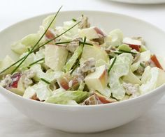 A classic salad named after the prestigious Waldorf–Astoria Hotel in New York.
