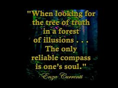 THE ONLY RELIABLE COMPASS IS ONES SOUL