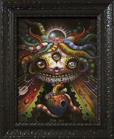 Heart of Butterfly / Yoko d'Holbachie Cute Illustration, Character Illustration, Pop Culture Art, Image Fun, Hippie Art, Wow Art, Pop Surrealism, Japan Art, Cute Creatures