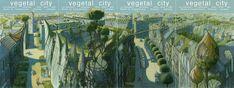 ciudad observatorio: François Schuiten, un dibujante de cómics que inventa ciudades Arcology, Minecraft Plans, Creature Concept Art, Sky Garden, Expositions, Heaven On Earth, Comic Books Art, Les Oeuvres, Creatures