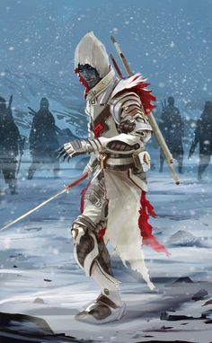 Undead Stormshadow as White Walker, by Wlad Salzer via550
