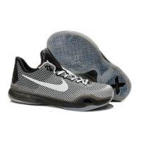 2015 Nike Zoom Kobe X EM XDR (10) men basketball shoes grey white Kobe b36866d0e