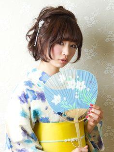 ★ナチュラル&キュートな浴衣アレンジ★