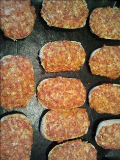 Rezept Pizzabrötchen von schnuerfel - Rezept der Kategorie Backen herzhaft