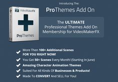 VideoMakerFX Pro Themes Add On. Best way to create engaging content for your space.