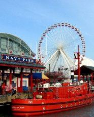 Iconic landmark and always entertaining Navy Pier  #Travel #Chicago