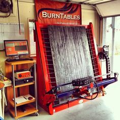 Vertical CNC Table for your garage shop! #cnc #cncplasma #welding #fabrication #metalfab #metalart #wallart #yardart