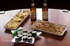 Kirin Beers Paired with Strawberry Cream Cheese Dessert Sushi  #sponsored #mc #kirinUSA