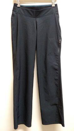 Columbia Back Beauty Boot Cut Pants Women's Size M Medium Black #Columbia #Pants