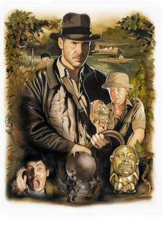 Indiana Jones Raiders Of The Lost Ark art