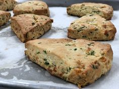 Spinach And Feta, Scones, Pastries, Banana Bread, Low Carb, Desserts, Food, Meal, Deserts