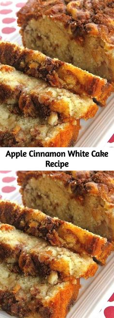 A buttery white cake that comes together in minutes but tastes like you spent al.A buttery white cake that comes together in minutes but tastes like you spent all day making it. Adding apples and cinnamon with brown sugar in layers makes this cake Food Cakes, Cupcake Cakes, Cupcakes, Apple Cake Recipes, Dessert Recipes, Apple Kuchen Recipe, Delicious Desserts, Apple Recipes Easy, Apple Ideas