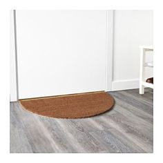 Easy to keep clean - just vacuum or shake the rug. Latex backing keeps the mat firmly in place.
