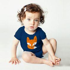 LITTLE FOX Body für Babys von Alive auf DaWanda.com