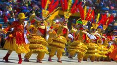 Fiesta de la Candelaria is a festival in honor of the Virgin of Candelaria, patron saint of the city of Puno in Peru, held in the first fortnight of February each year. It is one of the largest festivals of culture, music and dancing in Peru. http://exploretraveler.com