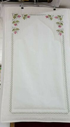 En Beğenilen Seccade Modelleri - Great Tutorial and Ideas Cross Stitch Heart, Cross Stitch Borders, Cross Stitch Designs, Cross Stitching, Cross Stitch Embroidery, Cross Stitch Patterns, Abaya Pattern, Hand Embroidery Flowers, Prayer Rug