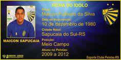 ARQUIVO LOBÃO: GALERIA DE CRAQUES - Maicon Sapucaia