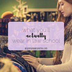 Law School Capsule Wardrobe | brazenandbrunette.com