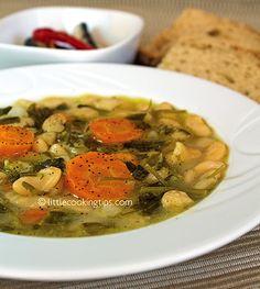 Fasolada: a traditional Greek white bean soup recipe